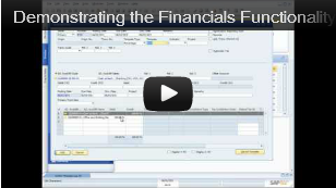 SAP Business One Accounting Demo